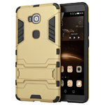 Slim Armour Tough Shockproof Case for Huawei G8 - Gold