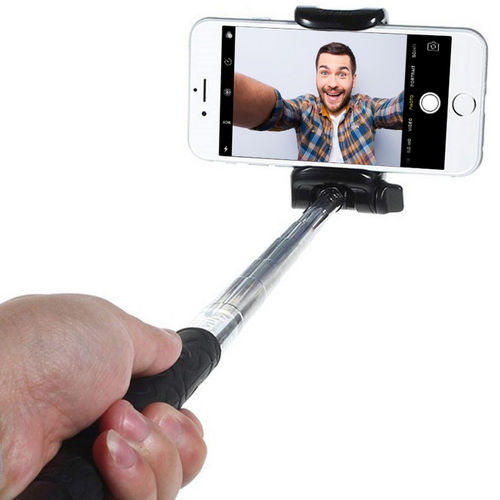 KJStar Foldable Wireless Bluetooth Selfie Stick for iPhone, Galaxy etc