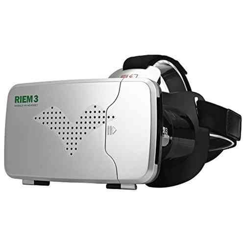 Ritech Riem 3 VR Virtual Reality HD Headset (Bluetooth Remote) - Black