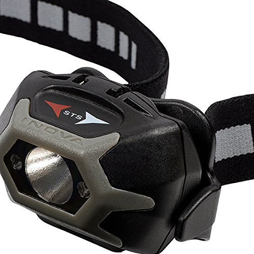 Inova STS LED Headlamp Flashlight Torch - Charcoal