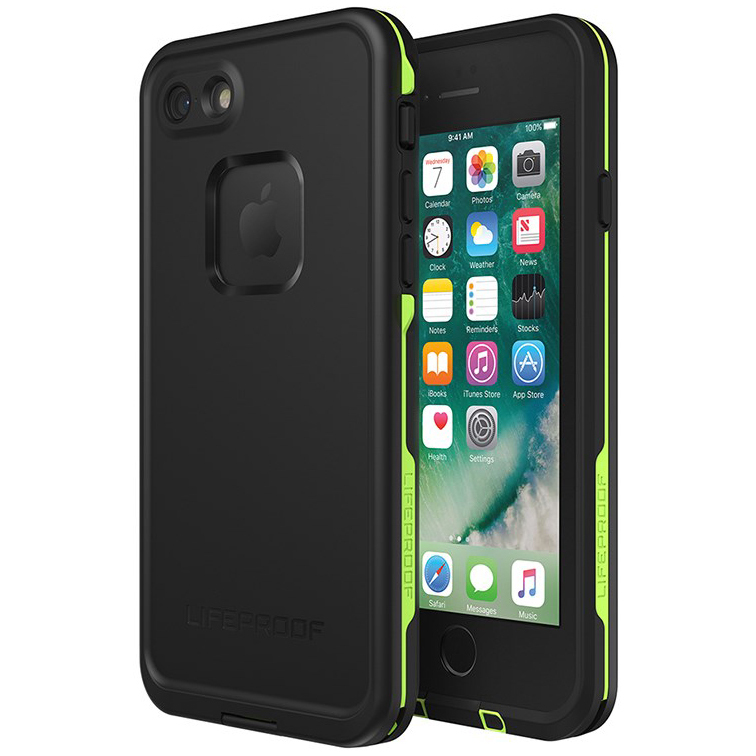 Lifeproof Fre Case For Apple Iphone 8 7 Black Lime