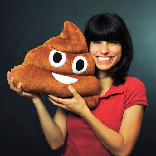 Emoji-poop-plush-pillow