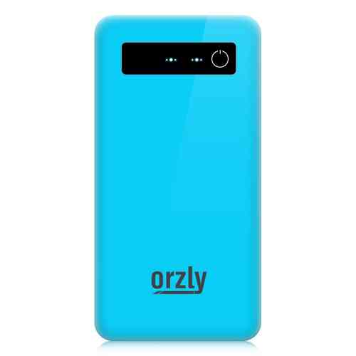 Orzly 4050mAh Portable Power Bank  / USB Charger - Blue