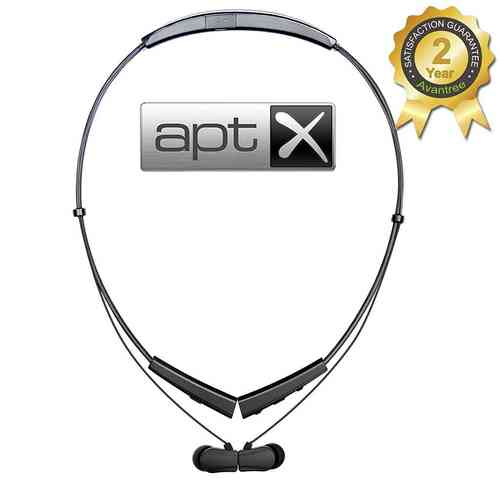 Avantree aptX Foldable Bluetooth In Ear Neckband Headphones