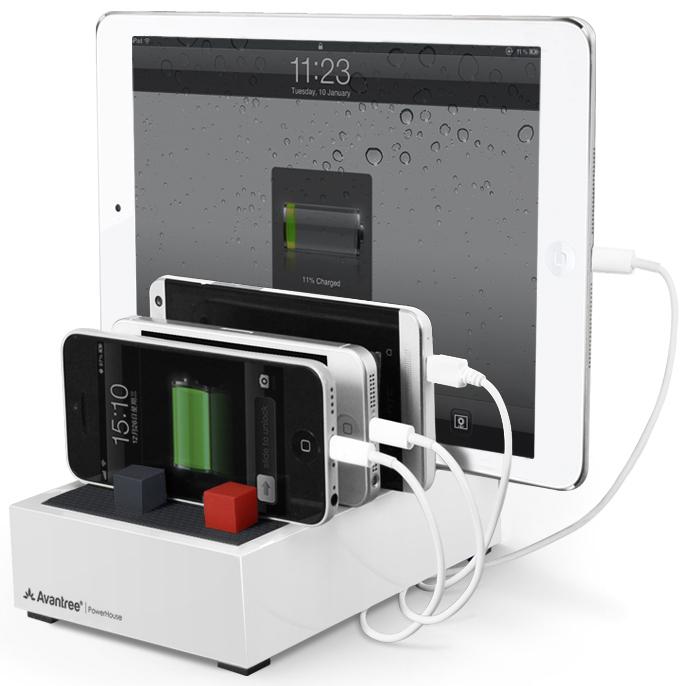 Avantree PowerHouse 4.5A USB Desktop Charging Station (4 Port)