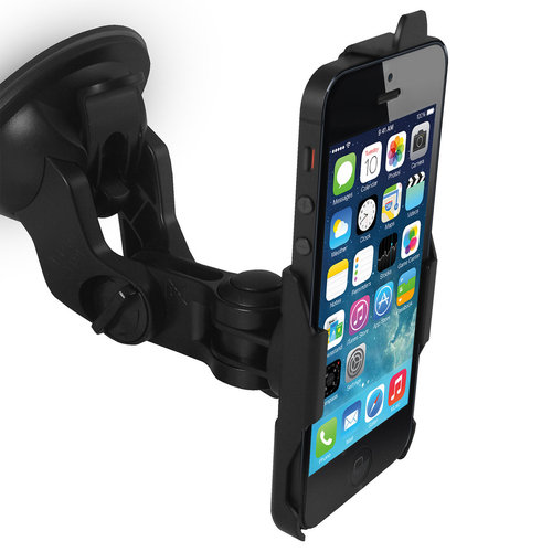 Suction Cup Car Mount Holder for Apple iPhone SE / 5 / 5s / 5c