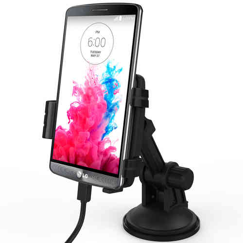 Kidigi Car Mount Holder Cradle & Micro USB Charger for LG G3
