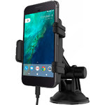 Kidigi Car Mount Holder & USB Type-C Charger Cable for Google Pixel XL