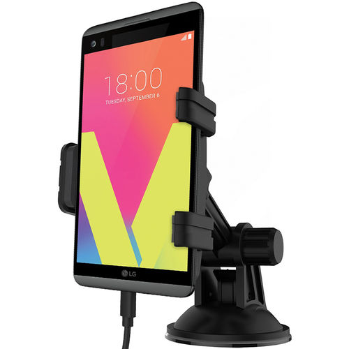 Kidigi Car Mount Holder & USB Type-C Charger Cable for LG V20