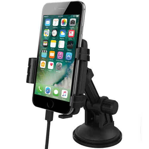 Kidigi Car Mount Cradle Holder & Charger for Apple iPhone 7 / 7 Plus