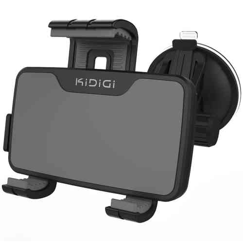 Kidigi Car Mount Cradle Holder with MFi Apple Lightning Cable Charger