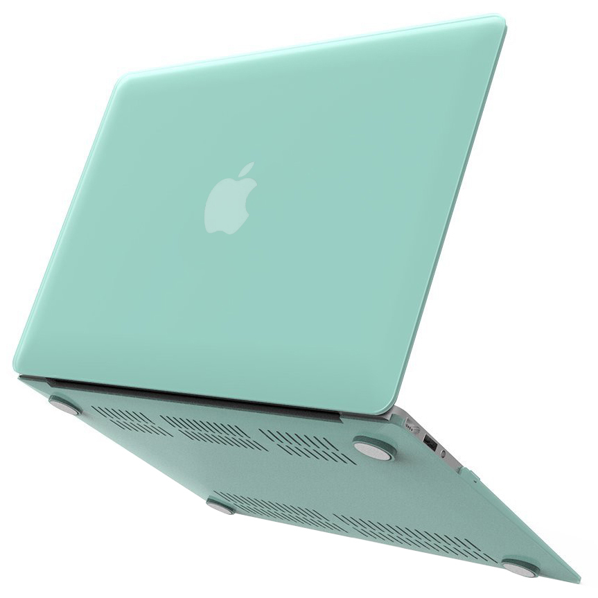 frosted shell hard case apple macbook air 11 inch green. Black Bedroom Furniture Sets. Home Design Ideas