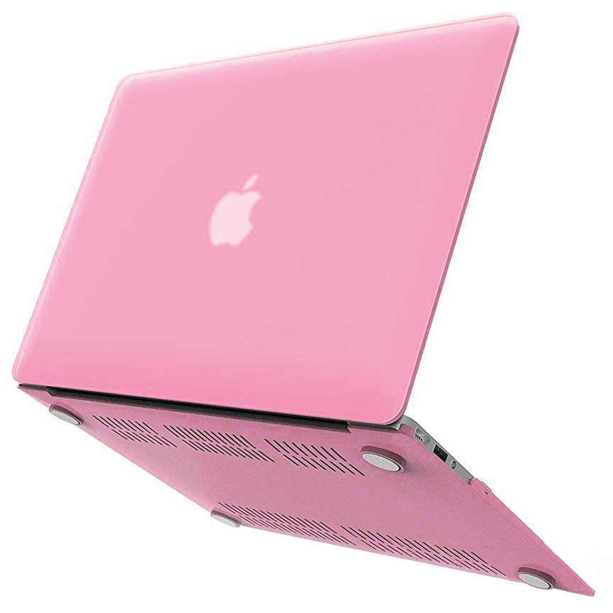 frosted shell hard case apple macbook air 11 inch pink. Black Bedroom Furniture Sets. Home Design Ideas