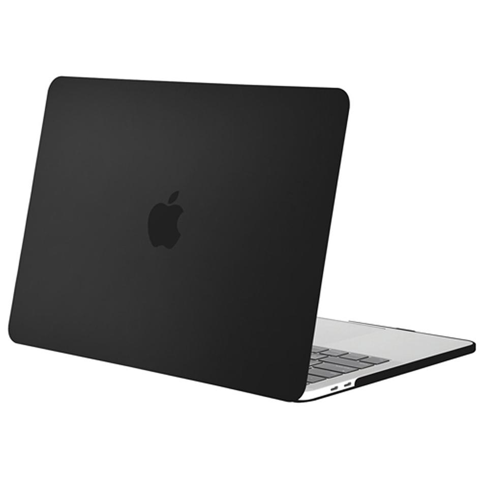 frosted hard case 13 retina macbook pro 2016 black. Black Bedroom Furniture Sets. Home Design Ideas