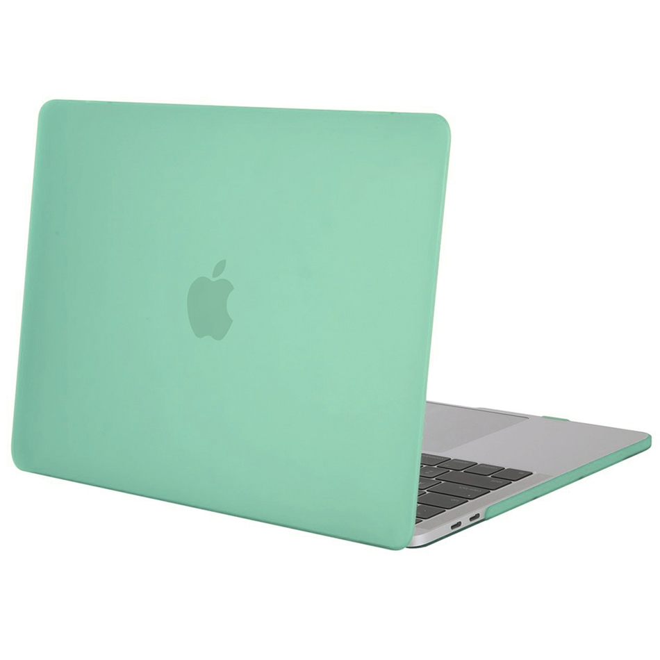 frosted hard case 13 retina macbook pro 2016 green. Black Bedroom Furniture Sets. Home Design Ideas