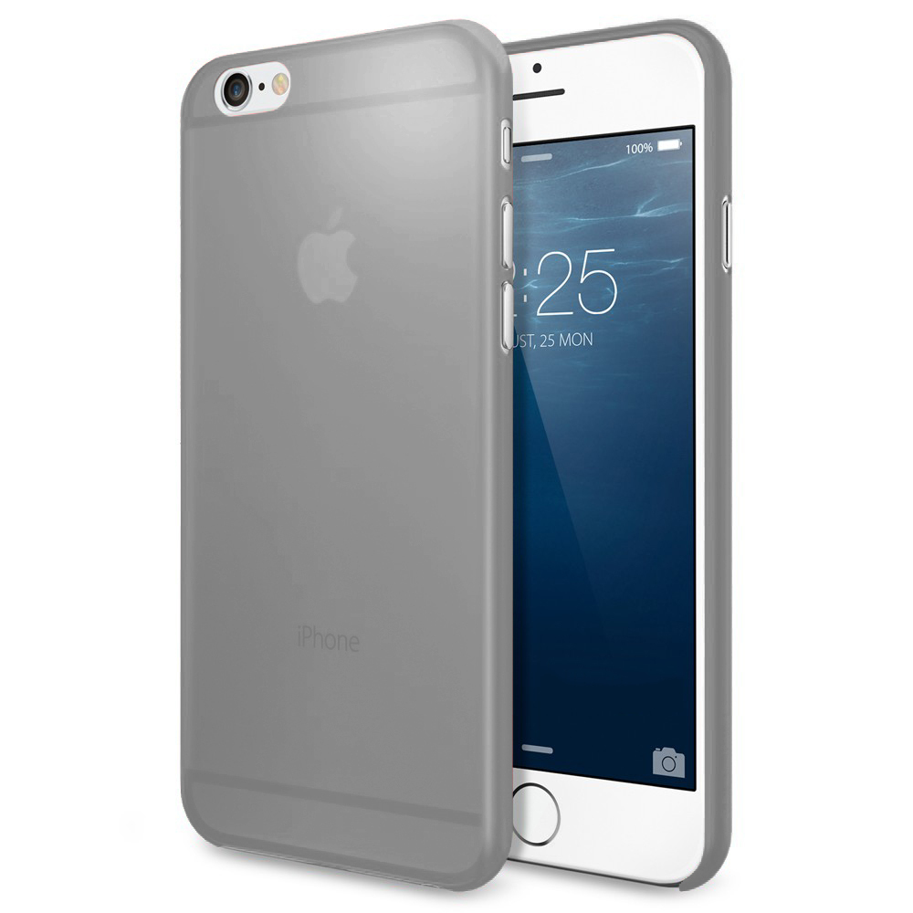 air skin razor case   apple iphone 6s plus grey