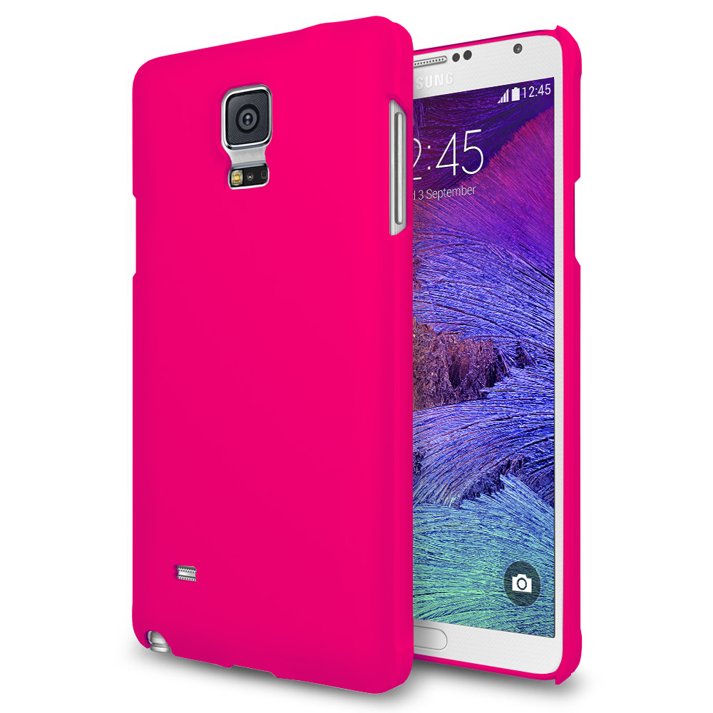 polyshield hard case for samsung galaxy note 4 hot pink. Black Bedroom Furniture Sets. Home Design Ideas