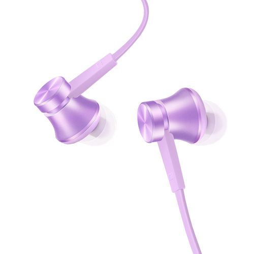 Xiaomi Basic Piston In-Ear Stereo Headphones (Remote & Mic) - Purple