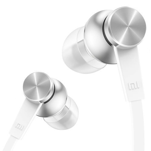 Xiaomi Basic Piston In-Ear Stereo Headphones (Remote & Mic) - Silver