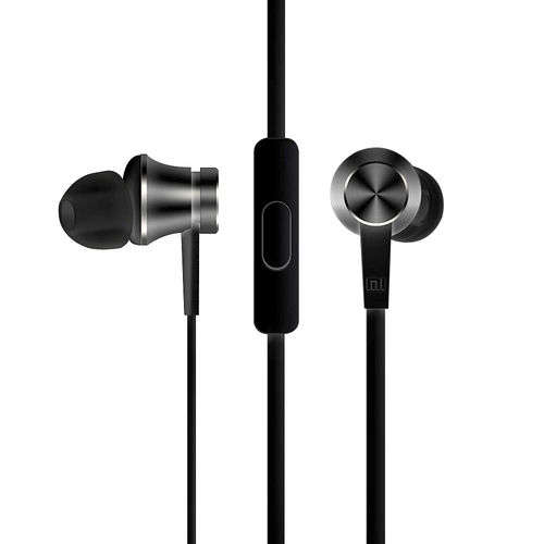 Xiaomi Basic Piston In-Ear Stereo Headphones (Remote & Mic) - Black