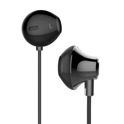 USAMS Enjoy Series Alloy Shell Noise Cancelling Earphones - Grey