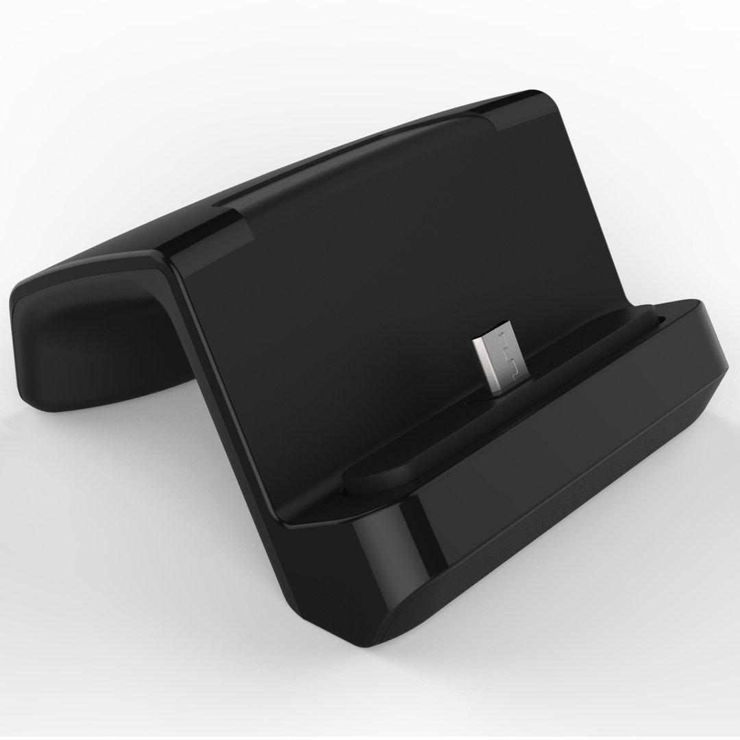 kidigi micro usb docking station charging cradle lc vub. Black Bedroom Furniture Sets. Home Design Ideas