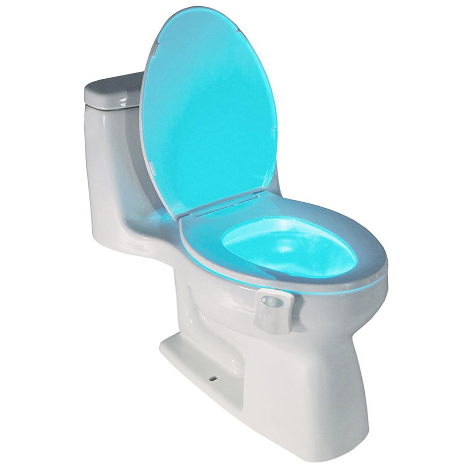Colour Led Light Bowl Toilet Seat Motion Sensor Night Lamp