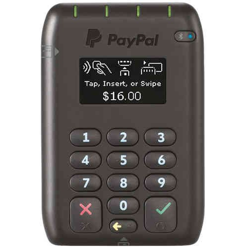 PayPal PayWave Tap & Go Portable Bluetooth Credit Card Reader