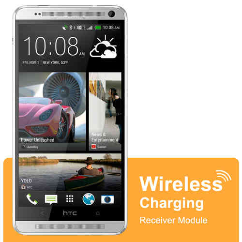 Micro USB Qi Wireless Charging Receiver Card - HTC One Max T6