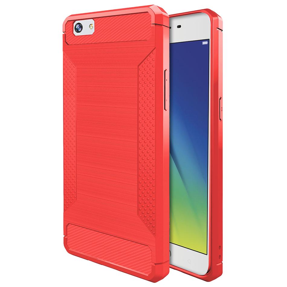 Flexi carbon fibre tough case for oppo a57 red flexi carbon fibre tough case for oppo a57 brushed red stopboris Image collections