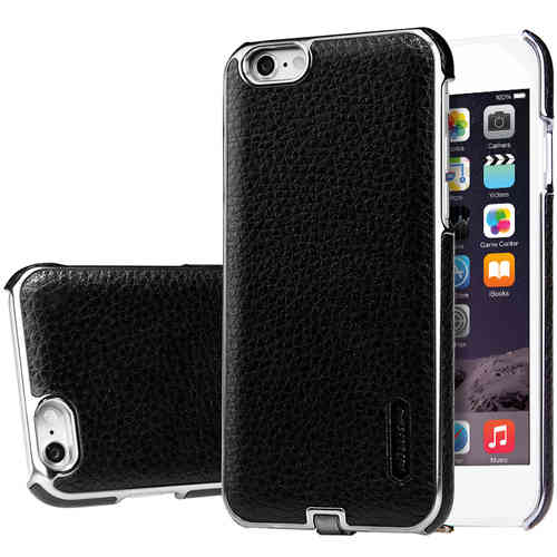 Nillkin N-Jarl Wireless Charging Leather Case for iPhone 6s - Black