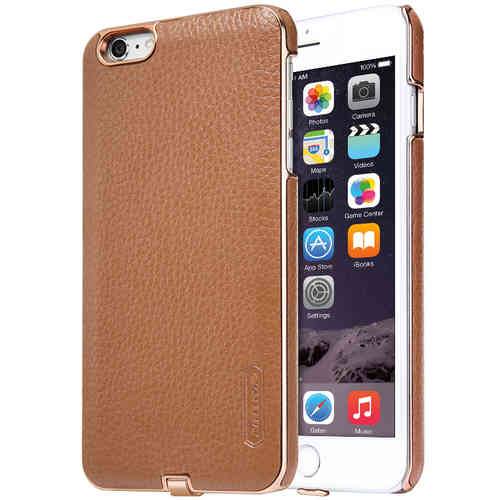 Nillkin N-Jarl Wireless Charging Leather Case - iPhone 6s Plus - Brown
