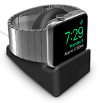 Orzly Night Stand Charger Dock for Apple Watch - Black