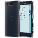 Orzly Flexi Gel Case for Sony Xperia X Compact - Clear (Transparent)