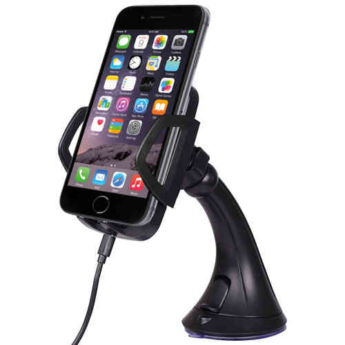 Qi Wireless Charging Car Mount Holder for Apple iPhone 6s / 5s / SE