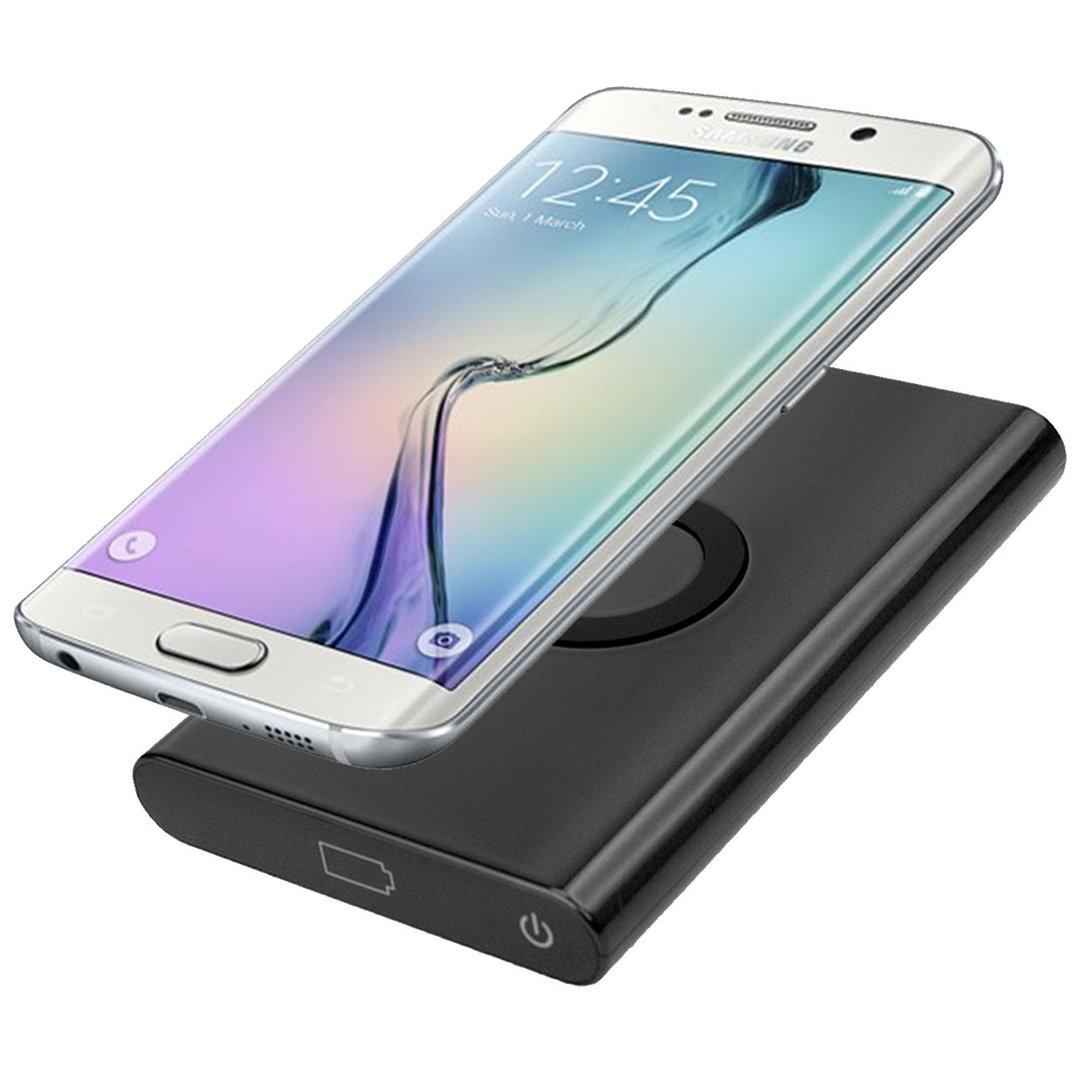 7000mah Qi Fast Wireless Charging Power Bank For Phones