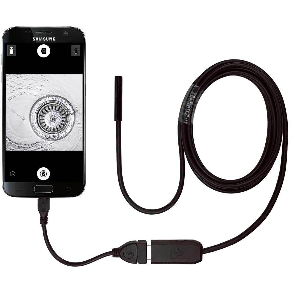 2m Waterproof Usb Endoscope Led Inspection Camera Cable