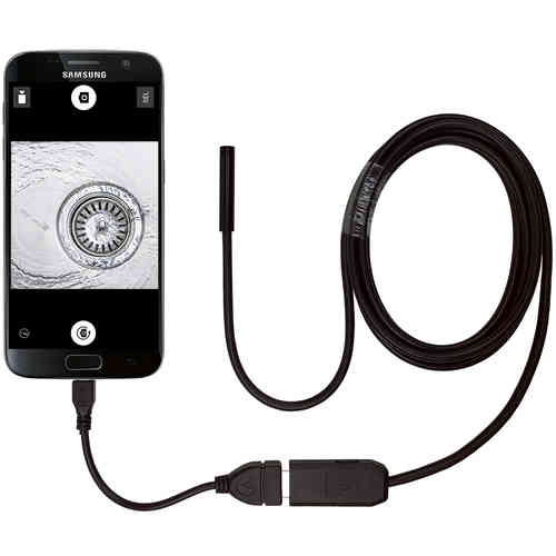 2m Waterproof USB OTG Endoscope Inspection Camera with LEDs for Phones