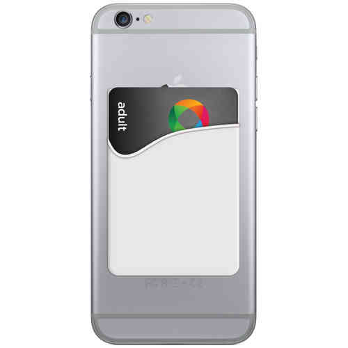 Opal Card Pouch / Transport Ticket / Card Holder for Phones - White