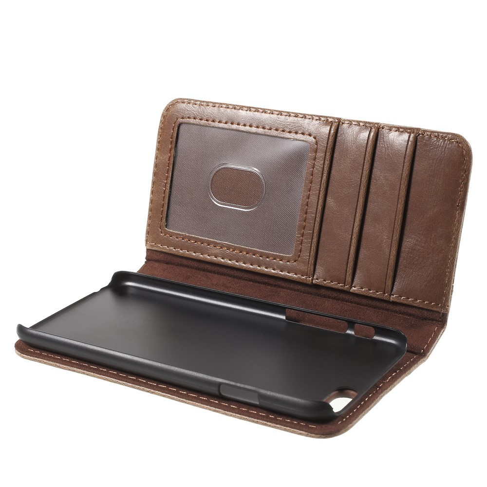 Old Book Leather Case ~ Antique book leather wallet case apple iphone s brown