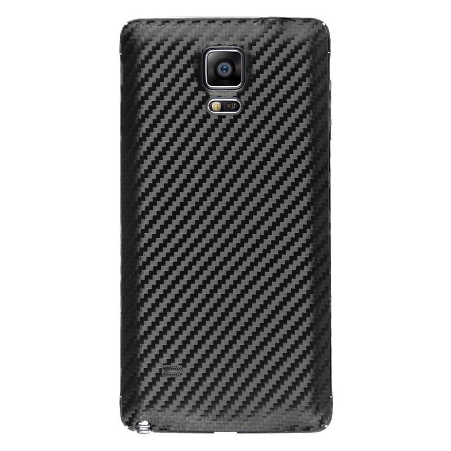 Replacement Back Cover Samsung Galaxy Note 4 Carbon Black