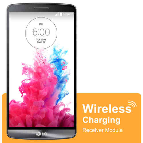 Qi Wireless Charging Receiver Card with NFC for LG G3