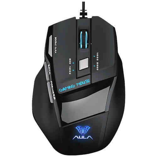 AULA Killing The Soul SI-928 Optical Wired Gaming Mouse (2000DPI / 7D)
