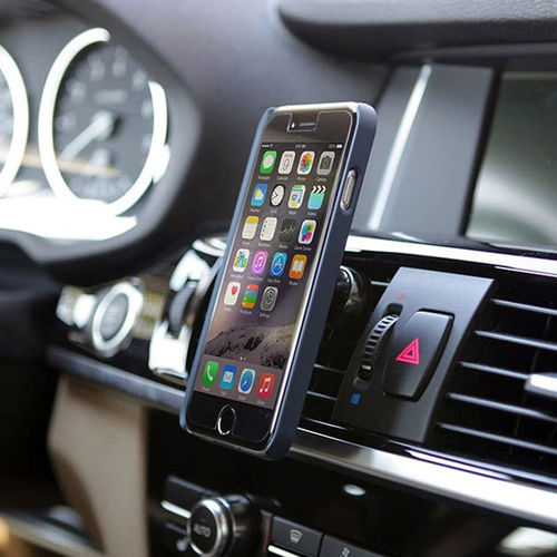 Baseus Magnetic Aluminium Air Vent Car Mount Holder for Mobile Phones