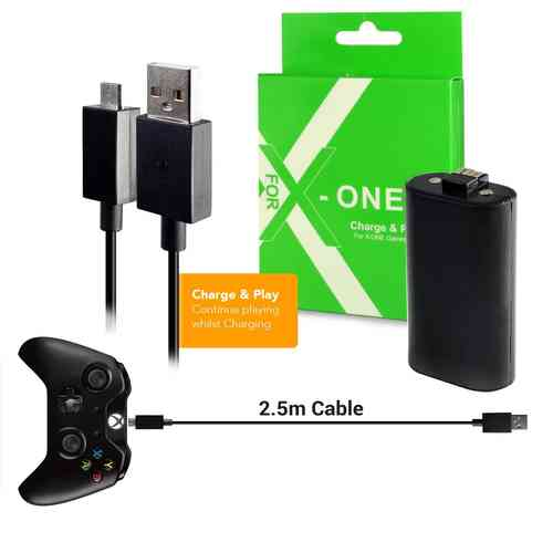 Twitfish Charge & Play Rechargeable Battery for Xbox One Controller