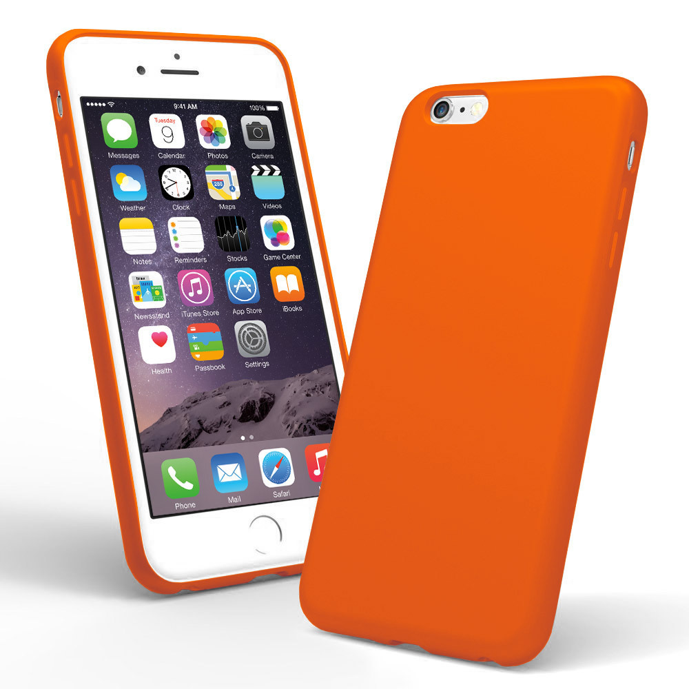 spectrum case for apple iphone 6s plus blaze orange