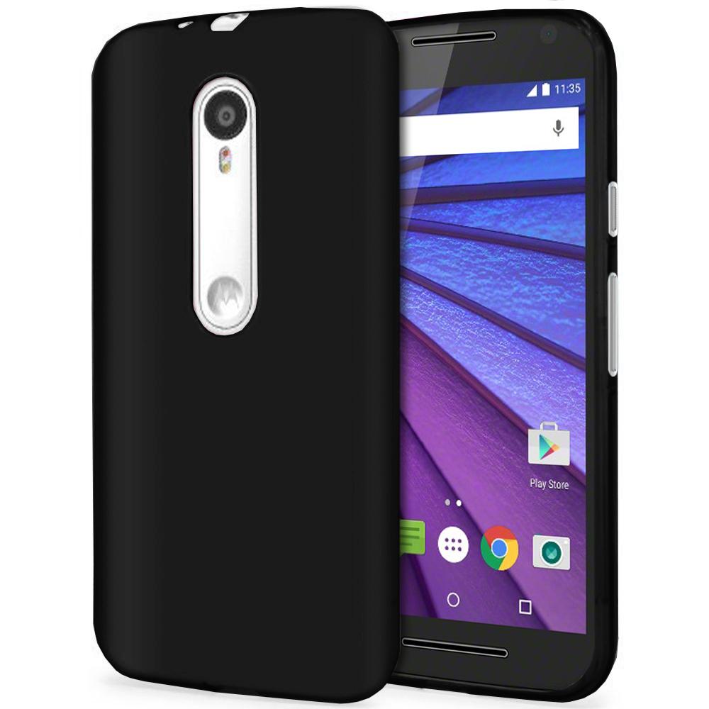 Flexi Gel Case Motorola Moto G 3rd Gen Black