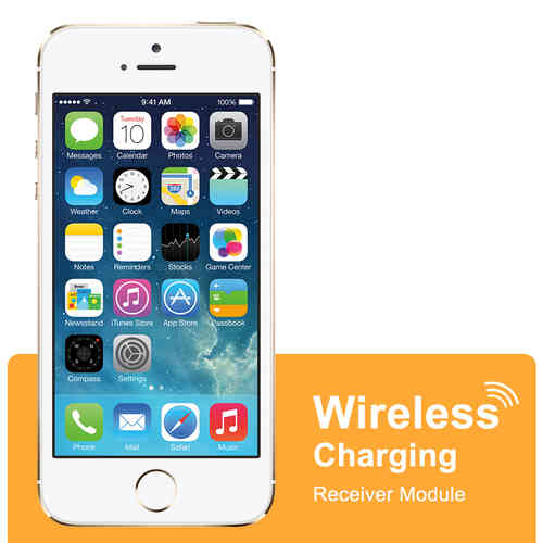 Qi Wireless Charging Receiver Card for Apple iPhone 5 / 5s