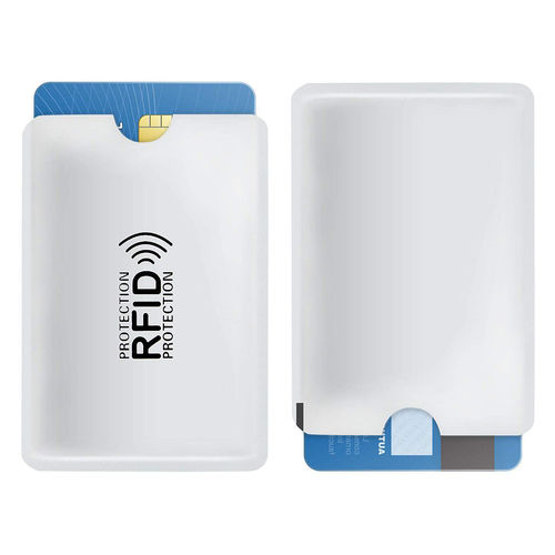 (5-Pack) Anti-Theft RFID Blocking Credit Card Protective Sleeve