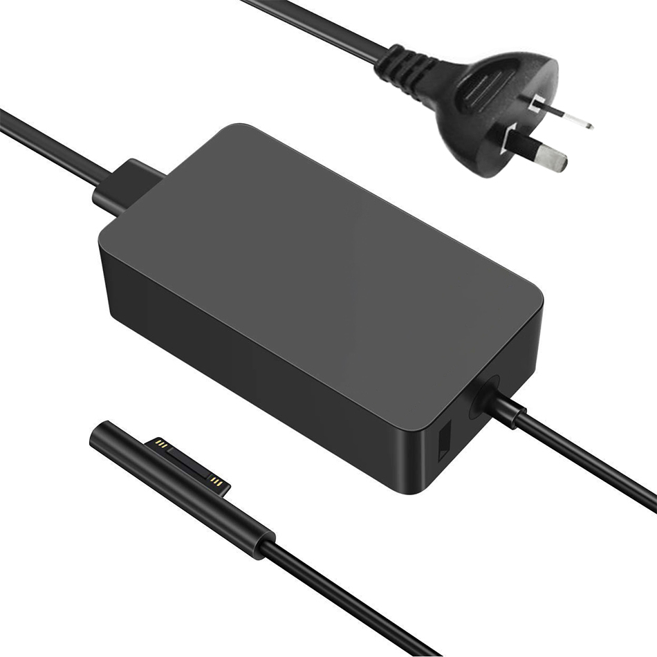 Microsoft Surface Pro 6//5 to USB Female Interfaces Power Adapter Charger Cable